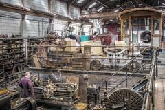 brecon - train workshop (grahamdale74) Tags: alyssia caitlin chel roy joan mum dad 2016 south wales
