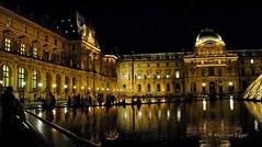 I am in Paris :)  Louvre at night - Paris - France (Anja von Egger ) Tags: paris france frankreich francja louvre nacht louvreindernacht iaminparis