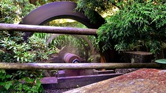 Water wheel (timnutt) Tags: castle victoria vancouverisland colwood garden gardens water wheel longexposure spin turn