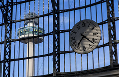 Clock Tower (David Chennell - DavidC.Photography) Tags: radiocity clock tower abstract station limestreetstation liverpool time merseyside