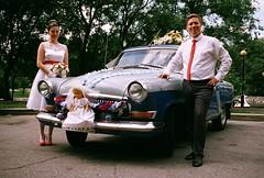 wedding Volga (cvarnou) Tags: volga wed gaz21 gaz