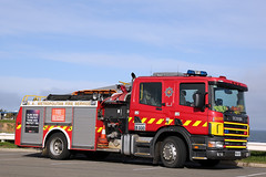 Spare Fleet 181 as Christie Downs 439 (adelaidefire) Tags: sa samfs mfs south australian metropolitan fire service scania lowes industries 0181
