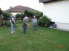 Horseshoes (Yvonne IA) Tags: germany schmitten horseshoes backyard play family