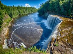 Upper Tahquamenon  Falls (Podsville) Tags: hdr michigan olympus9mmbodycapfisheye tahquamenonfalls upnotth upperpeninsula uppertahquamenonfalls