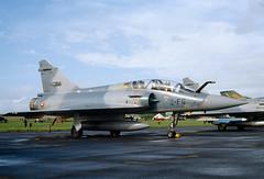 ALAN_POTTS_19870530_0009 (Spuggs) Tags: ayr ayrshire uk gbr glasgowprestwickairport prestwickairport hmsgannet pik egpk prestwickairshow airshow 2fg51 dassaultmirage2000b mirage2000b armedelair frenchairforce ect22 jet aircraft military hasselbladx5 alanpotts