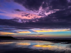 (lin_jun_yi) Tags: magichour 6s mobile iphone cloud sunset beach miaoli taiwan