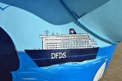 Skipper-F-17-September-2016 (Steve Ellwood Whitley Bay) Tags: greatnorthsnowdogs guidedog mikeclay northshields cliffordsfort ellwood steveellwood skipper joannewishart dfds westernquay fishquay