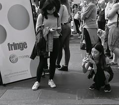 Low angle ... (vmanseventy) Tags: robertbmcneill tripuk scotland edinburghstreetphotography edinburghinternationalfestival scottishstreetphotography peoplephotos nikon ricohgrd1v lefteyed 50mmlens streetcandid blackandwhite filmphotography decisivemoment edinburghcastle princesstreet royalmile stgiles highstreet mound moundsquare eastprincesstreetgardens sirwalterscottmonument nationalgalleryofscotland rsa ramsaygarden waverley rosestreet playfairsteps westprincesstreetgardens georgeivbridge nikonf65 nikonfm fujix100s ricohgr panasoniclumixgm11232mmlens olympusbodycaplens panasonic20mm17ii fujixpro1 fuji18mmf2lens fuji27mmlens kodakportra160