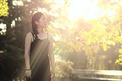 Sunset portrait (argilaga) Tags: sunset 135mm pentacon girl sun ligth manual mistic 600d belgium lige