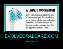 evolveoralcare.com EVOLVE is a uniquely designed tool which cleans the areas of your teeth and gums that are difficult to reach with an ordinary toothbrush.  #evolvetoothbrush #toothbrush #gingivitis #periodontist #dentist #toothpaste #gumdisease #smile (evolvetoothbrush) Tags: instagramapp square squareformat iphoneography uploaded:by=instagram evolvetoothbrush toothbrush gingivitis periodontist dentist toothpaste gumdisease smile