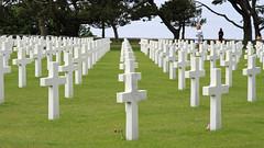 Amerikaanse begraafplaats (11) (Kok Vermeulen) Tags: frankrijk normandi vakantie