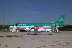 Aer Lingus FTE (11) (crgmry) Tags: aerlingus fte aerlingusfte airbusa320 a320 aeropuertodejerez jerez aeropuerto airport jerezairport flighttrainingeurope