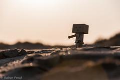 sand-bo (Rainer Preu) Tags: nikon nikonshooters digital d300 strand sand beach plage valrasplage danbo danboard miniatur miniature mini little france frankreich sdfrankreich sonnenuntergang sunset meer mittelmeer sea