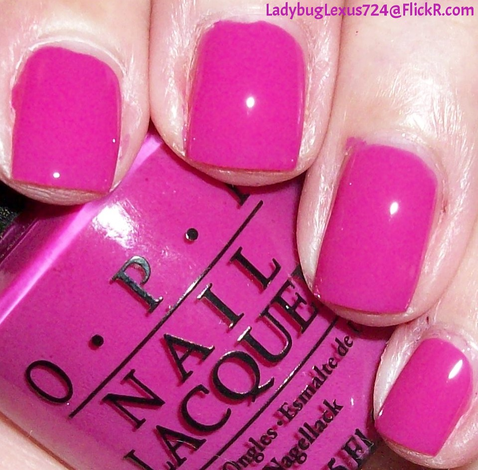 Pink Purple Nail Polish: The World's Newest Photos Of Opi And Red