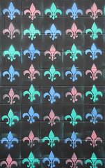 Fleur-de-lis (lipsofcrimson) Tags: toronto walking city september urban exploring art streetart kensingtonmarket fleurdelis colour