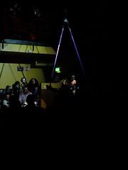 Aerial Strapwork (failing_angel) Tags: 311015 london camden kingscross scala halloween whitemischief cabaret burlesque music gig heaven hell jairramirez straps