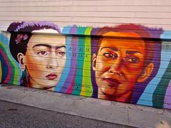 Infinita Ternura, San Francisco, CA (Robby Virus) Tags: sanfrancisco california julia nada infinita ternura infinite tenderness mural street art frida kahlo chavela vargas
