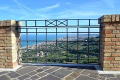 Silvi Alta (boscam) Tags: italia abruzzo silvi belvedere mare adriatico