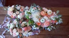 bouquets (Flower 597) Tags: weddingflowers weddingflorist centerpiece weddingbouquet flower597 bridalbouquet weddingceremony floralcrown ceremonyarch boutonniere corsage torontoweddingflorist