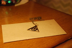 Deathly hallows necklace (Tchuutchuu) Tags: harry potter deathly hallows necklace magic
