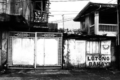 Gritty Gate (iecharleton) Tags: legazpicity legazpi albay philippines gate blackandwhite gritty street graffiti pacificpartnership2016 pacificpartnership pp16