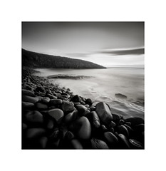 Culernose Point, Northumberland (DavidO'Brien) Tags: culermosepoint northumberland pinhole lensless film nopo120 delta100 analogue seascape seashore blackandwhite square