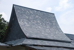 Slate Roofing Works (adeptasia) Tags: wood roof construction asia steel generators samui works koh cummins builder roofing tiling adept electrics adeptasiacom constructionkohsamuicom