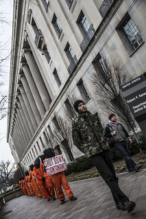 Witness Against Torture: Circling the Department of Justice