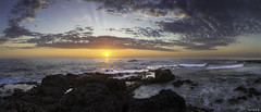 Sunset  la pointe au sel. (Seb97470) Tags: sunset panorama hdr saintleu couchdesoleil larunion pointeausel