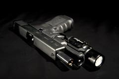 VFC G17 GBB airsoft - 05 (james bigdog) Tags: pistol dslr handgun wargame airsoft glock gbb sidearm g17 surefire vfc x400 strobist d700 sb900 dlite4