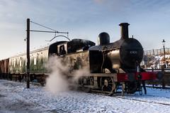 Jinty (alanrharris53) Tags: winter snow rail steam gala greatcentralrailway gcr 2013 47406