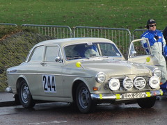 1968 Volvo 121S Amazon (GoldScotland71) Tags: volvo glasgow rally historic carlo 1960s 1968 monte 2013 121s ldx221g