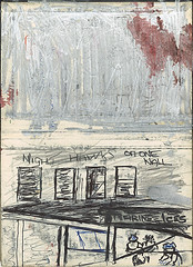 """structural sketch and idea for painting nighthawks • <a style=""""font-size:0.8em;"""" href=""""http://www.flickr.com/photos/91814165@N02/8424407350/"""" target=""""_blank"""">View on Flickr</a>"""