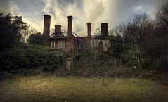 The house in the woods ( explore ) (andre govia.) Tags: house tree grass woodland fire photo woods closed photos best creepy hidden burnt urbanexploration porn trespass horror mansion mold buddah derelict decayed edwardian ue manorhouse urbex andregovia