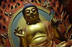 Inside the Buddha Tooth Relic Temple  an update... 2013 (williamcho) Tags: sculpture temple singapore chinatown holy figurine spiritual buddhists placeofworship bestofsingapore singaporeimages buddhatoothrelictemple topazlabadjust williamcho