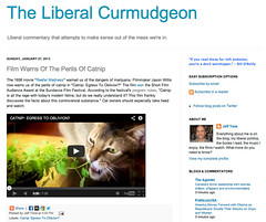 The Liberal Curmudgeon - Catnip: Egress to Oblivion?