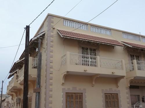 Balcons blancs