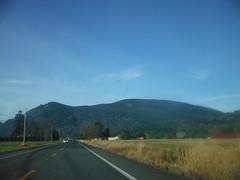 Blanchard Hill / Chuckanut Mountain from HWY 11