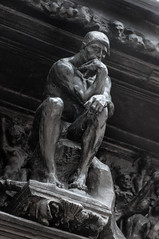 Rodin - The Gates of Hell - The Thinker -6.jpg (ahast42696) Tags: sculpture paris rodin gatesofhell museerodin