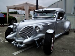 Ford V8 pickup hot rod (sv1ambo) Tags: hot ford pickup nsw newsouthwales rod v8 castlehill castletowers allamericanday