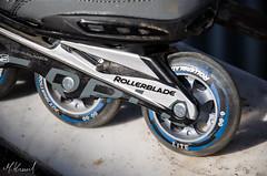 Rollerblade Spark 80 Comp (kamilmolendys) Tags: blue sport skating skate rollerblade rollers