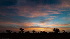 La naissance du monde  On Explore  (DeGust) Tags: africa blue sunset orange color azul niger night landscape noche twilight nikon sundown nacht paisaje bleu westafrica afrika dmmerung blau paysage crpuscule landschaft farbe nuit couleur westafrika pnombre afrique crepsculo coucherdusoleil zwielicht afriquedelouest d700 nikkor1424mmf28 gustavedeghilage tillabri
