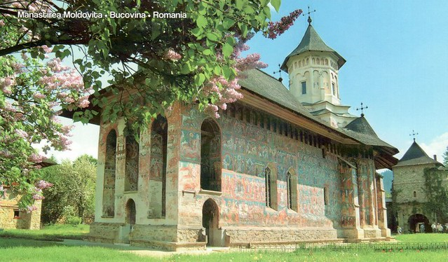 UNESCO WHS Romania Painted Churches of Moldavia: Moldovita