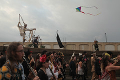 eris dawns (l*ght//m_tion) Tags: neworleans parade nola marchingband eris colorguard flagcorps dawneris