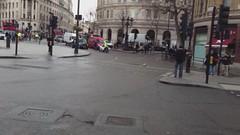 Prince Charles being escorted through Trafalgar Square (BlueLightTim) Tags: fire police rover ambulance land emergencyvehicles ambulancetim bluelighttim bluelightstim