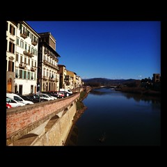 The Arno (sarahryanhecht) Tags: travel italy florence europe riverarno