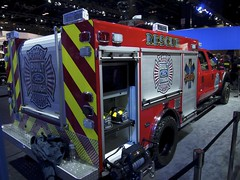 Ford Rescue Truck (smaedli) Tags: chicago illinois unitedstates autoshow automotive transportation chicagoautoshow olympusep3 mzuiko135561442mm olympusmzuikodigitaled1442mmf3556iir