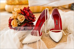 Someone is waiting for that day... (Stefan Cioata) Tags: flowers photography bride nikon shoes interior style jewelry stefan jewels decor d800 atelier elegance splendor cioata flickrandroidapp:filter=none