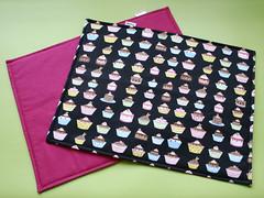 Jogo Americano (Meia Tigela flickr) Tags: handmade artesanato artesanal craft cupcake decoração jogo mesa americano tecido estampado jogoamericano feitoamão