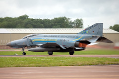 German Air Force F4-F Phantom II 38+28 (Newdawn images) Tags: airplane aircraft aviation military jet airshow phantom riat germanairforce raffairford f4f 3828 canoneos5dmarkii germanairforcef4fphantomii3828